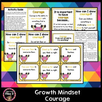 Growth Mindset Courage