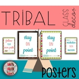 Growth Mindset Tribal Themed  Posters Classroom Decor