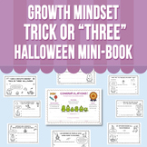 "Growth Mindset - Trick or ""Three"" Halloween Mini-Book"