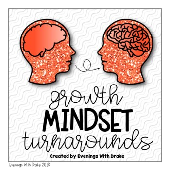 Growth Mindset Turnarounds Poster and Journal Set