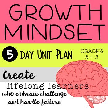 Growth Mindset Unit Plan
