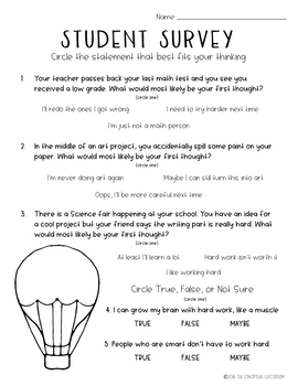 Growth Mindset - Getting Started: Vol. 1 UPPER GRADE SERIES