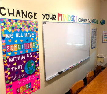 Growth Mindset Wall Decor / Quotes FREEBIE