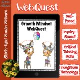 Growth Mindset WebQuest (Great Sub Plans!)