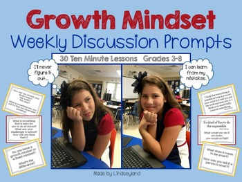 Growth Mindset Weekly Discussion Prompts