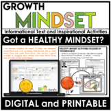 GROWTH MINDSET Activities | Back to School Success Tips |