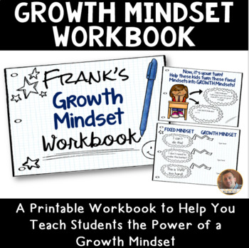 Growth Mindset Workbook for Grades 2-5