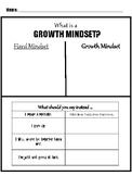 Growth Mindset Worksheet- Change Your Words