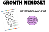 Growth Mindset Worksheet- The Mistakes Flower!