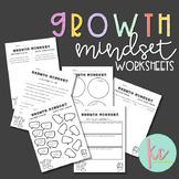 Growth Mindset Worksheets