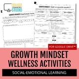 Growth Mindset Self - Assessment Worksheets