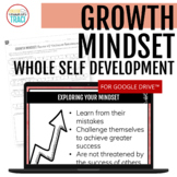 Growth Mindset Self - Assessment Worksheets