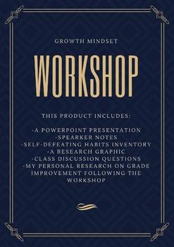 Growth Mindset Workshop / Lesson Plan *proven effective*