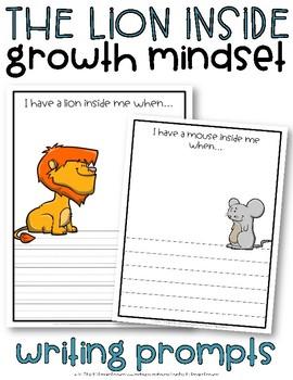 Growth Mindset Writing Activity