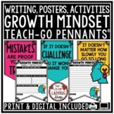 Growth Mindset Activities- Inspirational Quote Posters Farmhouse Classroom Decor