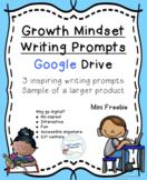 Growth Mindset Writing Prompts Freebie