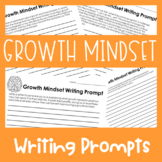 Growth Mindset Writing Prompts {Middle and High School}