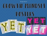 "Growth Mindset ""YET"" Poster--Variety"