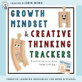 Growth Mindset and Creative Thinking Tracker: With Old Tra