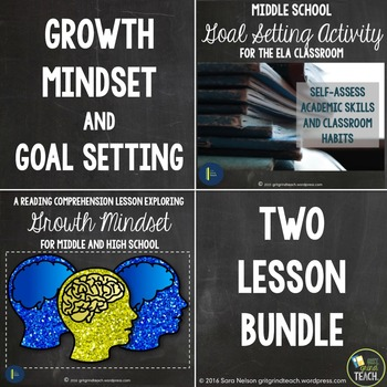 Growth Mindset Activities and Goal Setting Activities