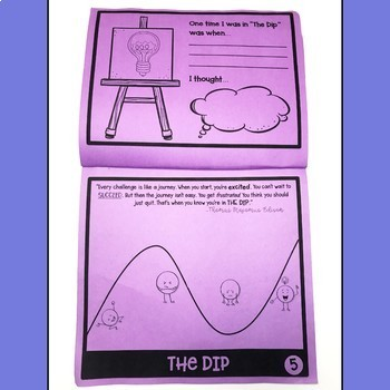 Growth Mindset Flipbook ClassDojo Companion