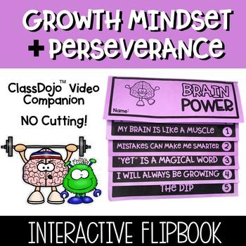 ClassDojo Growth Mindset Flipbook Companion