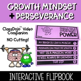 Growth Mindset and Perseverance Flipbook
