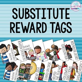 Substitute Teacher Brag Tags