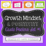 Growth Mindset and Positivity Quote Posters Set 1