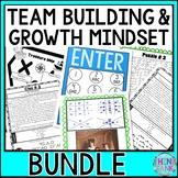 Growth Mindset and Team Building Escape Rooms BUNDLE!