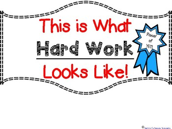 Growth Mindset and The Power of Yet Work Banners