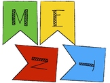 Growth Mindset banner English and Spanish: black and white & color