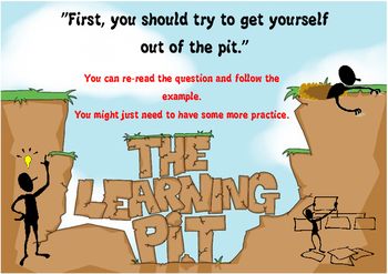 Growth Mindset for 8-12 year olds - The Learning Pit