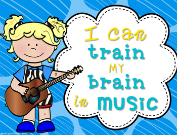 Growth Mindset for Music: Posters for Bulletin Board, Door, Classroom Decor