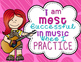 Growth Mindset for Music: Posters for Bulletin Board, Door