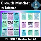 Growth Mindset for Science  Set 2 BUNDLE