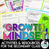 Growth Mindset Activities and Resources for the Secondary