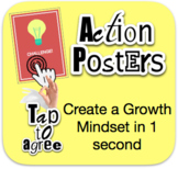 Growth Mindset in 1 Second Posters