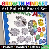 Growth Mindset Posters Bulletin Board Display: Classroom D