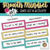 Growth Mindset in Art: Card Set and Activity