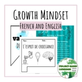 BUNDLE of Growth Mindset posters and activities in French
