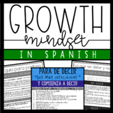 Growth Mindset in Spanish