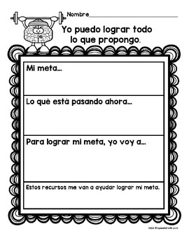 Growth Mindset in Spanish (Crecimiento del Aprendizaje)