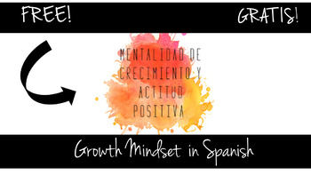 Growth Mindset in Spanish ( Inspired in Carol Dweck)