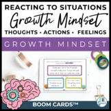 Growth Mindset in Speech: Growth Mindset Actions, Thoughts
