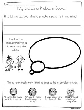 Growth Mindset in the Classroom (Problem-Solving)