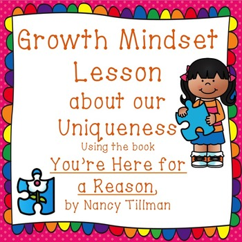 Growth Mindset lesson focused on being unique and important
