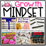 Growth Mindset (lessons, activities, posters, reader's the