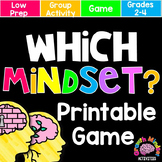 Growth Mindset Activities: Growth Mindset or Fixed Mindset Board Game