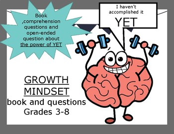 Growth Mindset - power of YET book and questions